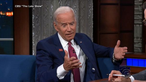 Biden pushes back on questions about campaign gaffes