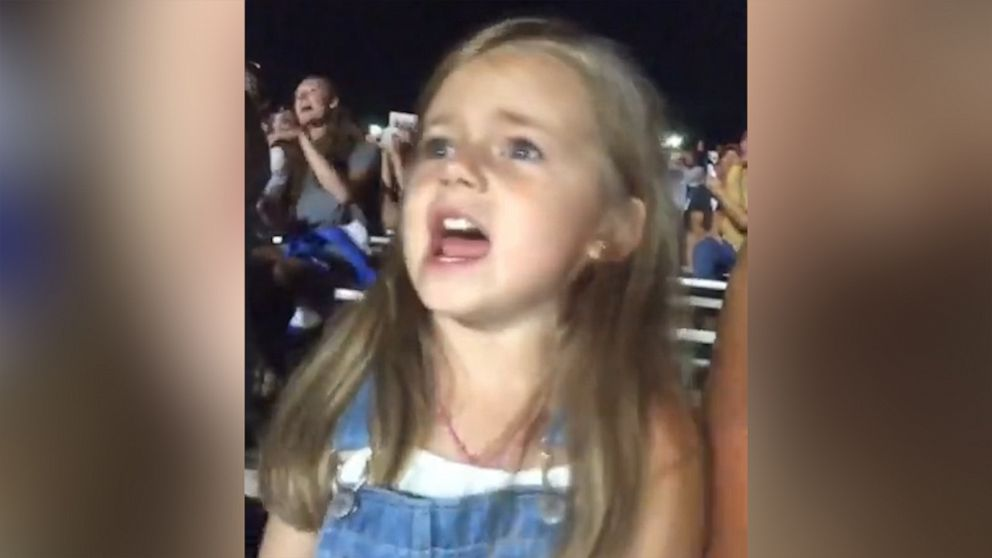 This little girl belting Morgan Wallen songs has country