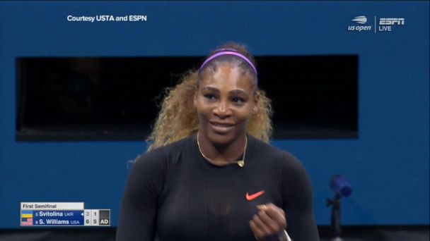Serena Williams advances to US Open finals