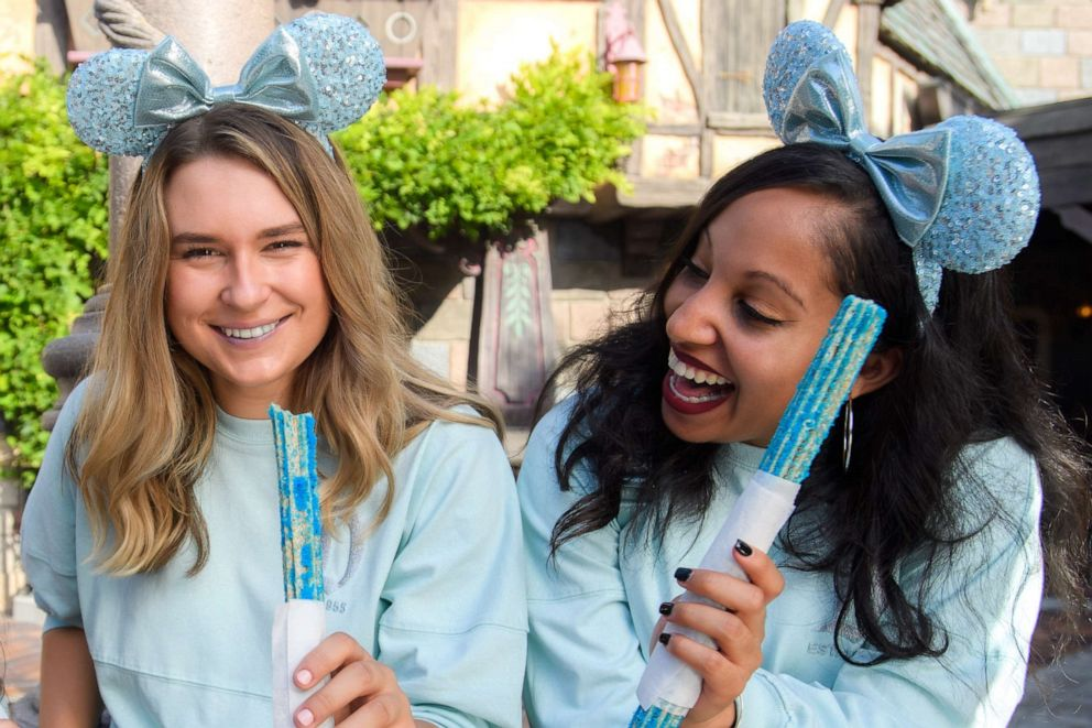 PHOTO: The Arendelle Aqua Collection is the latest color collection to hit Disney Parks.