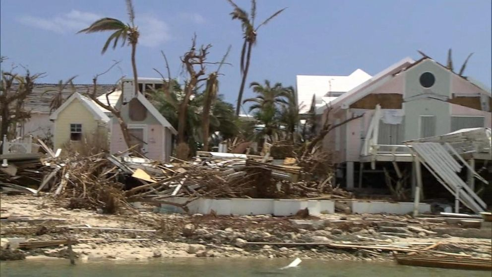 WATCH: First-hand look at the devastation in Bahamas from Hurricane Dorian