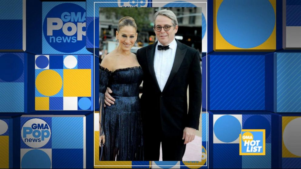 'GMA' Hot List: Sarah Jessica Parker and Matthew Broderick return to Broadway