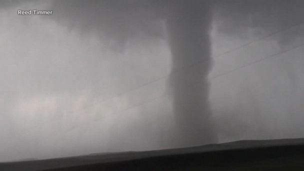 Tornado outbreak across the Midwest