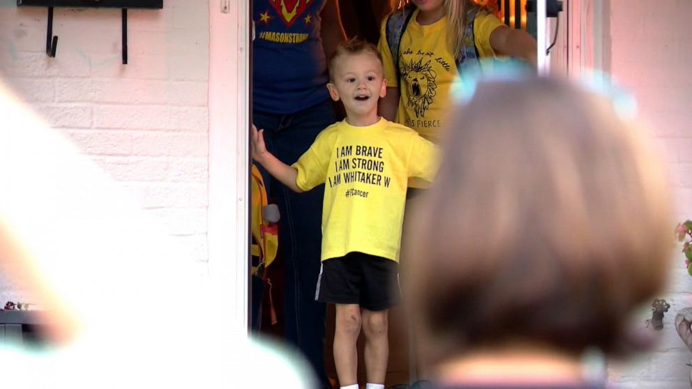 4-year-old cancer survivor gets Bumblebee-themed birthday surprise from community