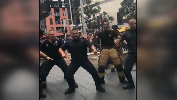 New Zealand firefighters honor 9/11 first responders