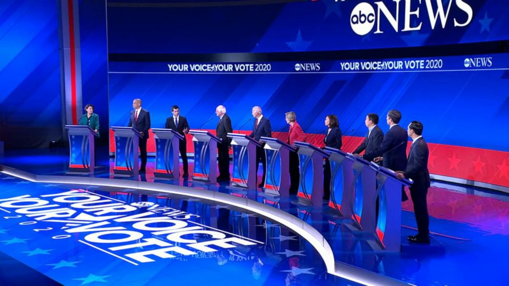 3rd round of Democratic debates sees a changing leaderboard: ANALYSIS