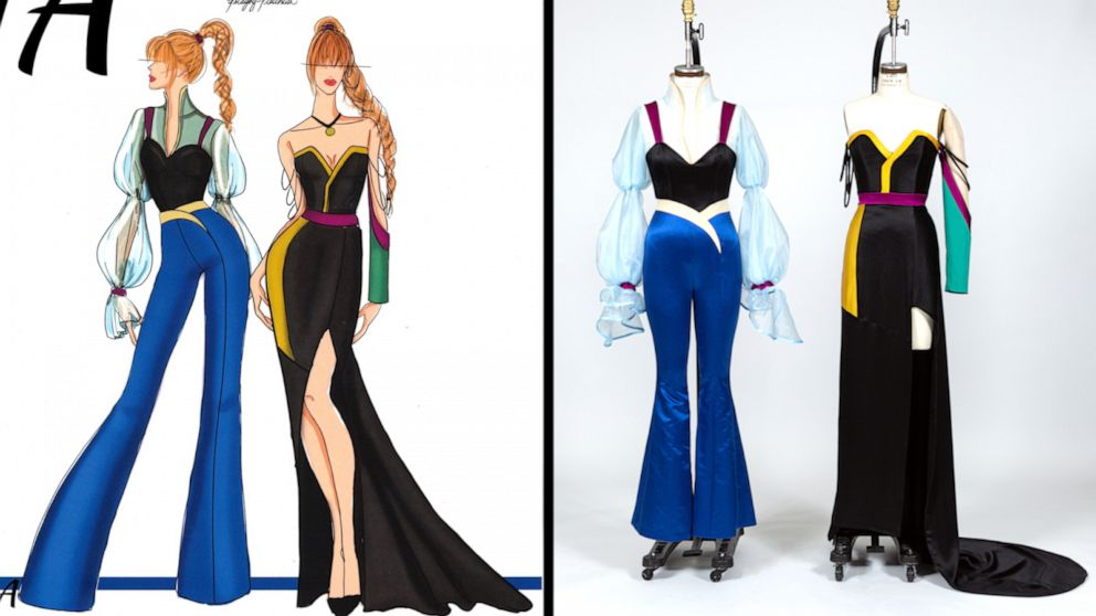 These fashion students gave their favorite Disney on Broadway characters a makeover