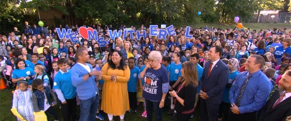 VIDEO: GMA honors an inspiring teacher from Massachusetts