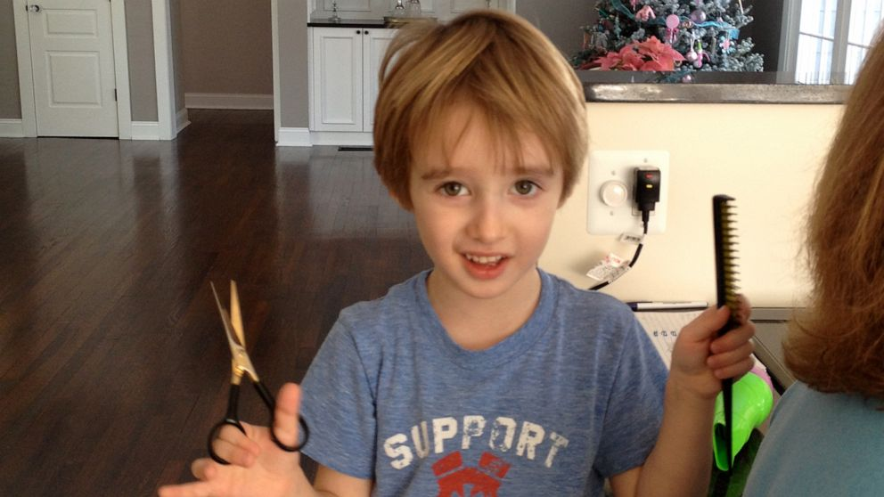 11 Year Old Boy Opens Salon In Parents Basement People
