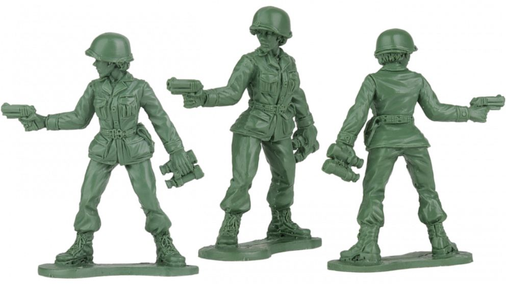 Toy maker debuts female toy soldiers after plea from 6-year-old girl