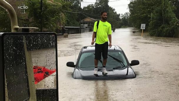 Water rescues underway after rain slams Texas