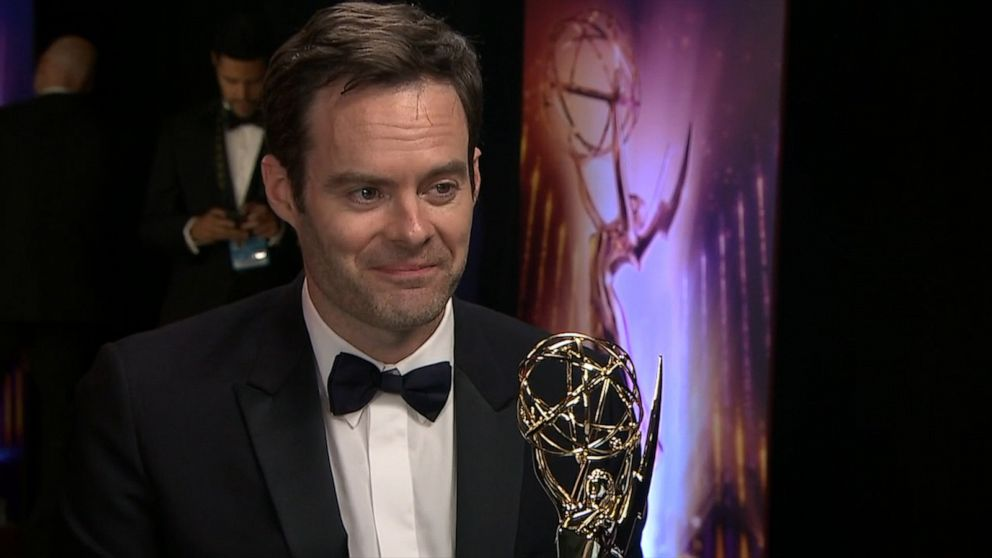 Bill Hader says he'll celebrate his Emmy win by eating at 'In-N-Out Burger'