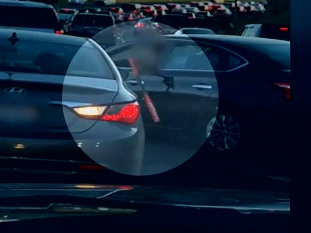 VIDEO: Video shows violent confrontation between drivers in the middle of rush hour traffic