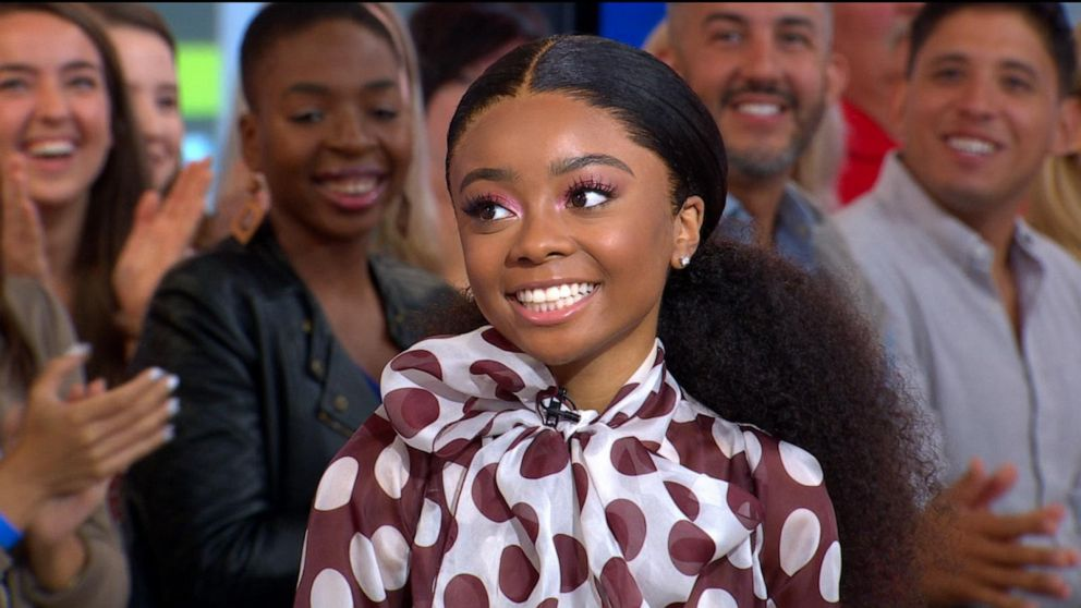 Former Disney Channel Star Skai Jackson Talks About New Book Video Abc News
