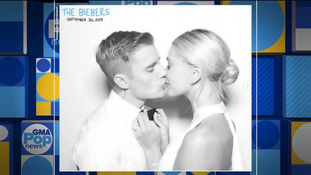 First pictures from Justin Bieber and Hailey Baldwin's wedding revealed