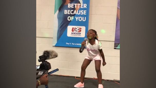 This 7-year-old rap sensation has nearly 1 million views on Twitter