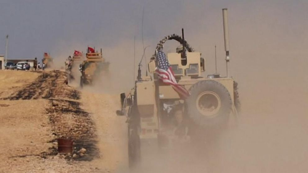 Turkey begins mobilizing against Syria; US begins removing forces from area