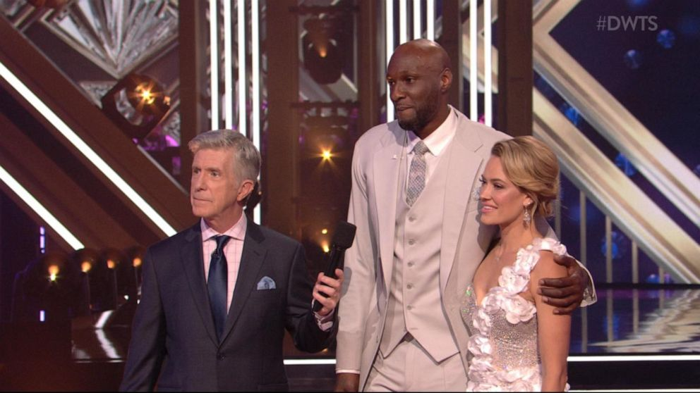 Lamar Odom exits 'Dancing with the Stars' ballroom