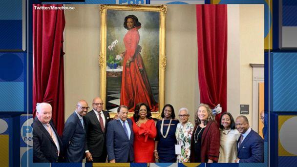 Oprah Winfrey making $13M dollar donation to Morehouse College in Atlanta