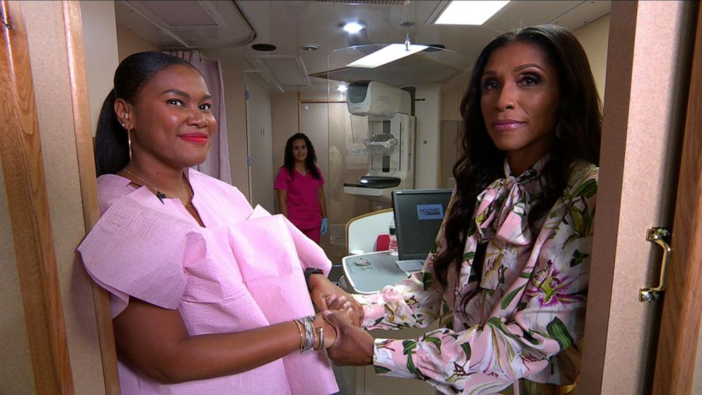 Dr. Jackie Walters of 'Married to Medicine' helps woman get 1st mammogram