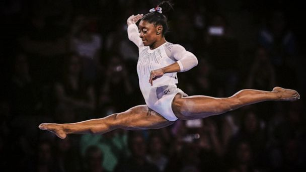 Simone Biles wins fifth world all-around title