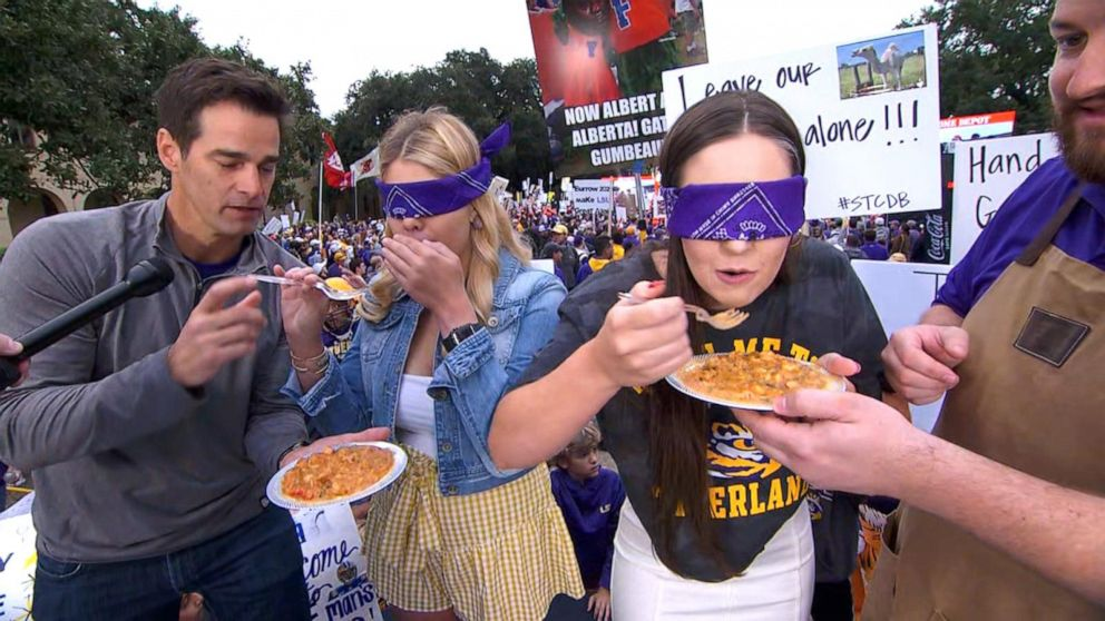 GMA's Taste Test Touchdown for College Game Day