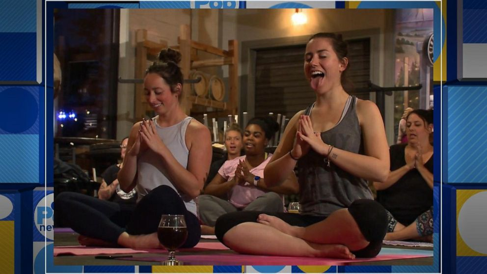 Rage yoga trend turns tranquil practice on its head
