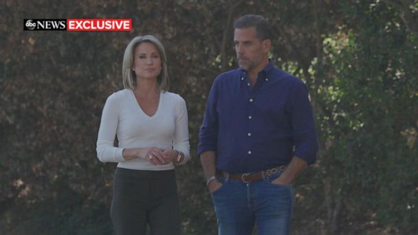 Hunter Biden sits down for exclusive interview with ABC News