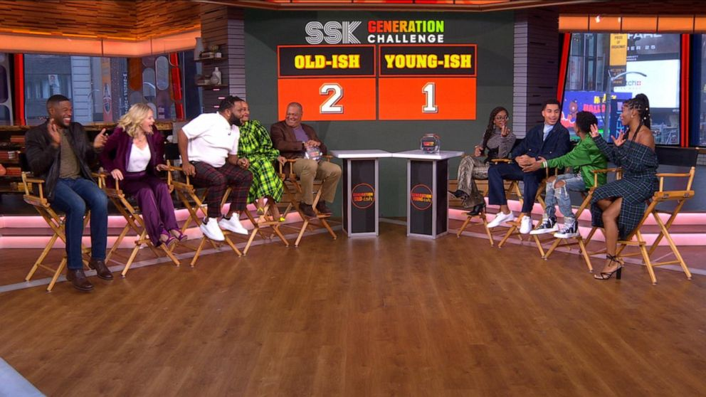 It's old-ish vs. young-ish with the cast of 'black-ish'
