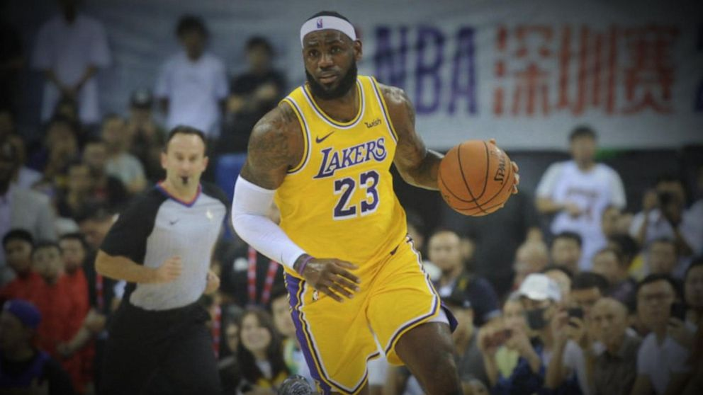 LeBron James says general manager who tweeted in support of Hong Kong protesters 'wasn't educated' on the issue