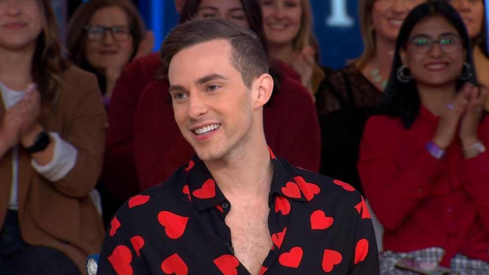 He's America's sweetheart and now an author: Hear about Adam Rippon's new book, 'Beautiful on the Outside'