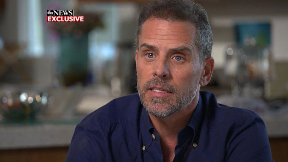 Exclusive: 'I'm here': Hunter Biden hits back at Trump taunt in exclusive ABC News interview