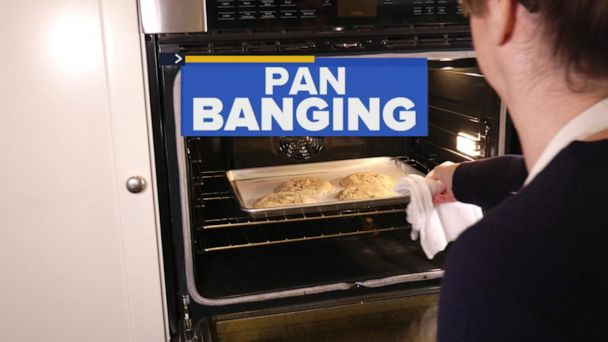 'Pan banging' chocolate chip cookies is the new cookie trend