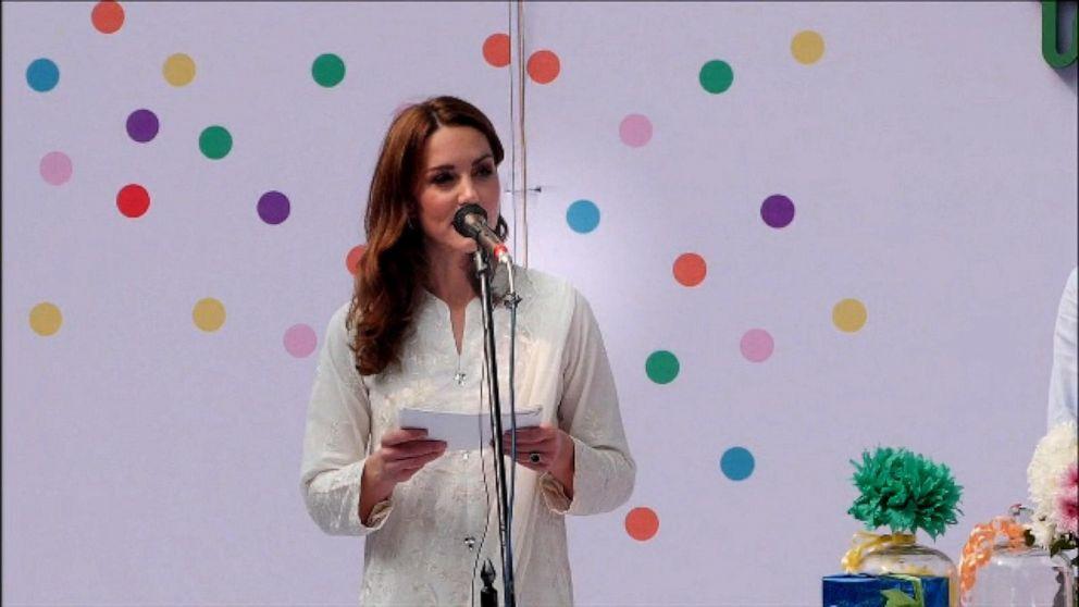 Duchess Kate makes big speech during Pakistan trip