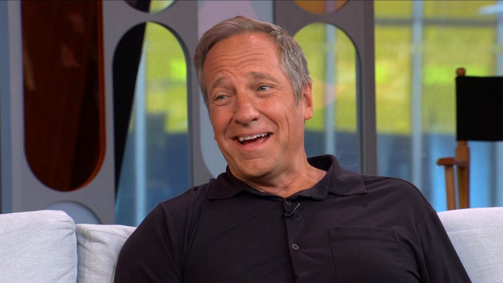 Mike Rowe lived in a haunted mansion
