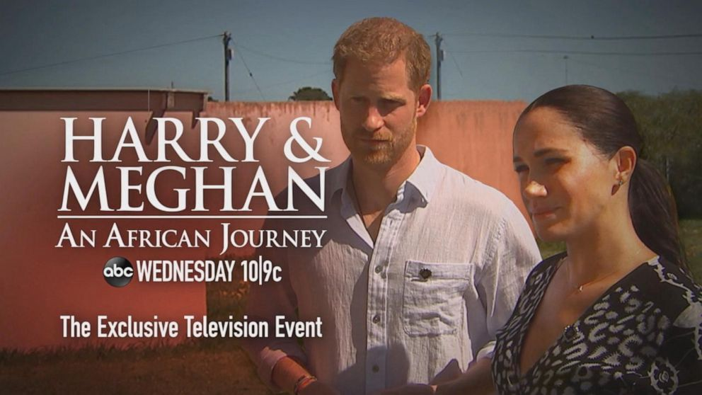 'HARRY & MEGHAN | An African Journey' premiering Wednesday 10|9c only on ABC.