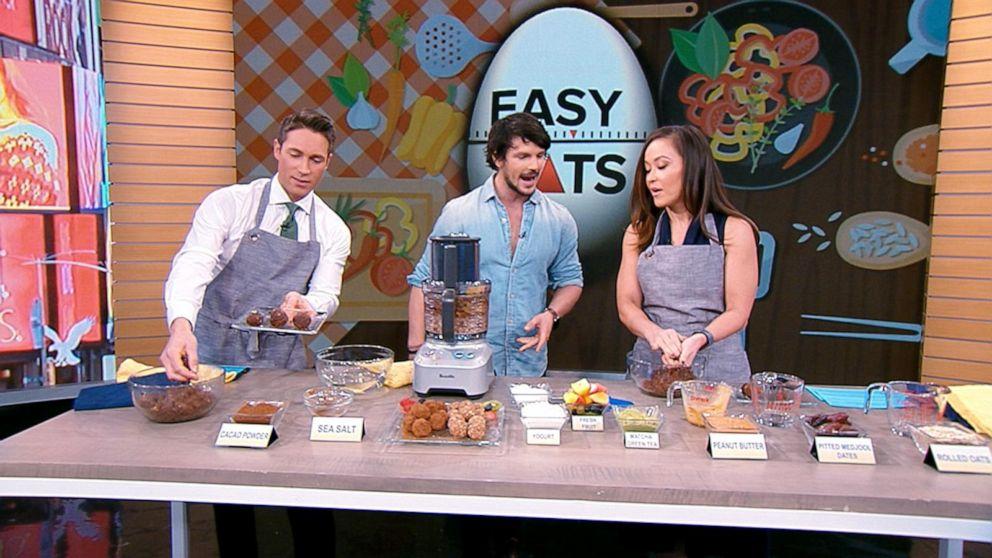 Chef Dan Churchill shows us tasty treats you can make in minutes