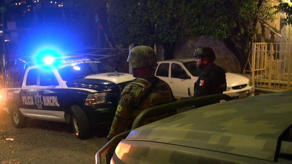 Gunfire filled the streets of Culiacan as police moved in to arrest son of 'El Chapo'