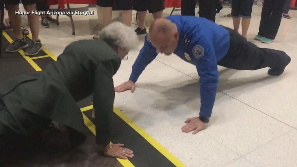 Former Army nurse, 84, proves she is still battlefield tough