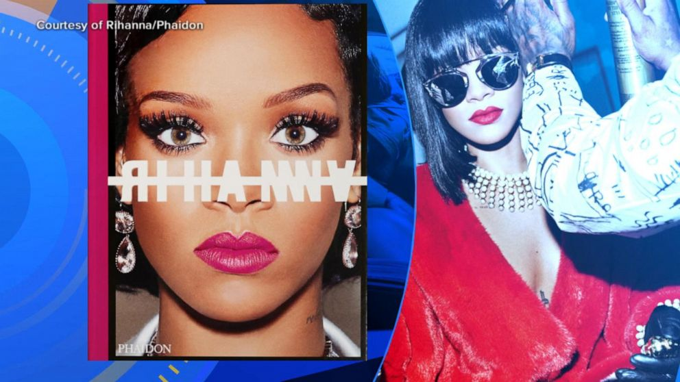 Rihanna's book features more than 1,000 photos