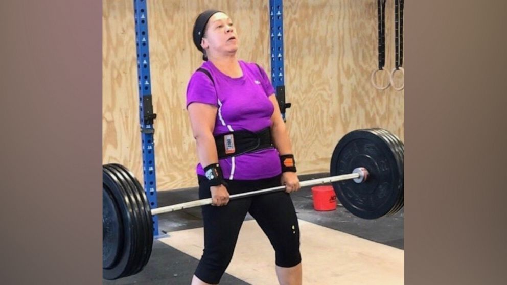 Great-grandmother lost 70 pounds doing CrossFit