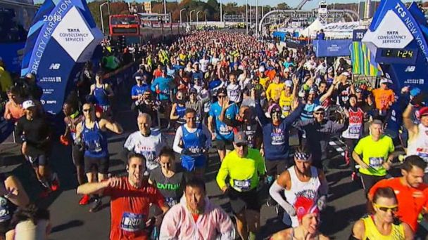 Fifty-thousand runners set to run in the New York City Marathon
