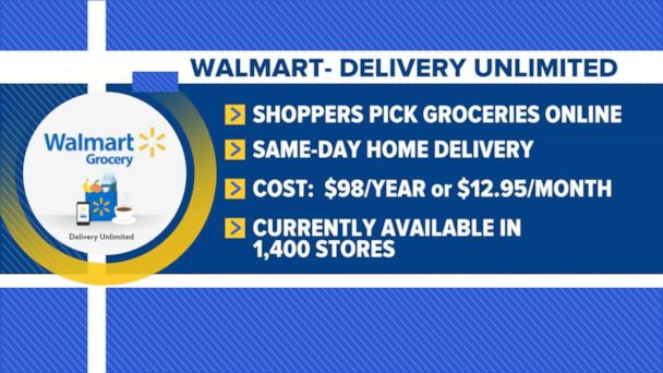 Walmart expands grocery delivery program
