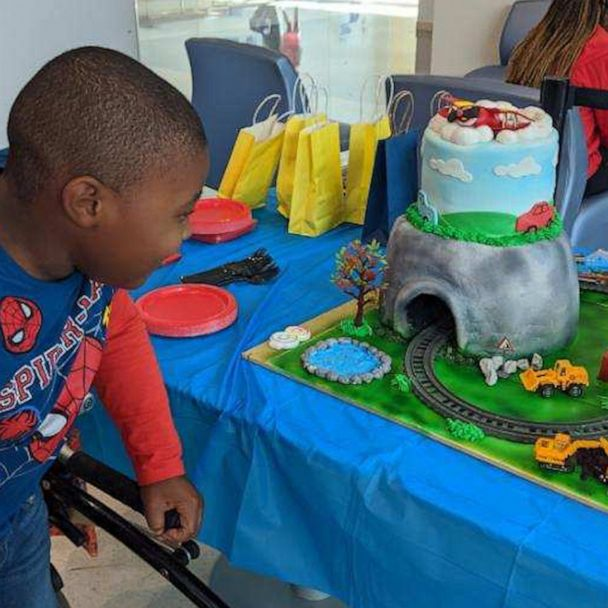 Miraculous 8 Year Old Boy With Rare Disorder Gets Incredible Birthday Cake Funny Birthday Cards Online Elaedamsfinfo