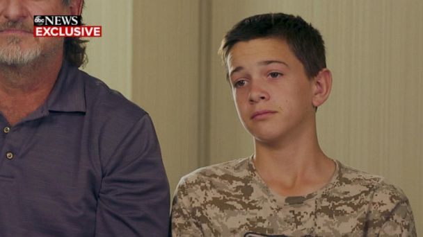Teen hero in deadly ambush describes saving family members