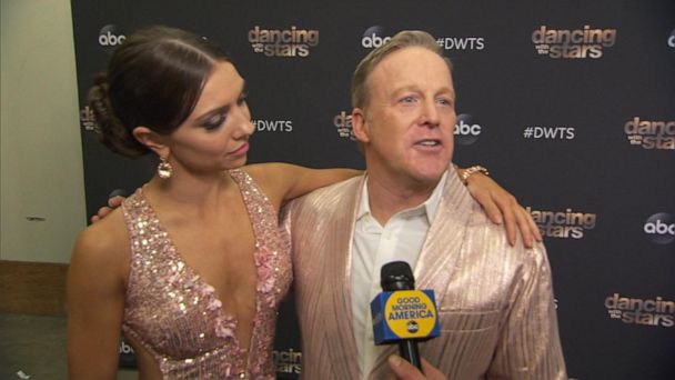 Sean Spicer sent home on 'Dancing with the Stars'