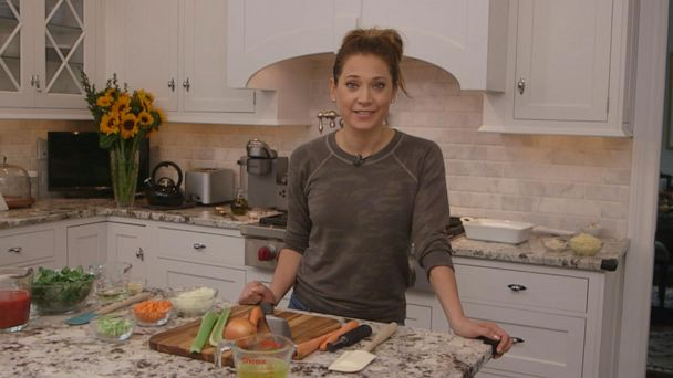 Learn how to make dinners easier with Ginger Zee's Cook Club