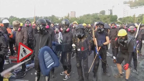 Hong Kong protests continue amid violent clashes with police