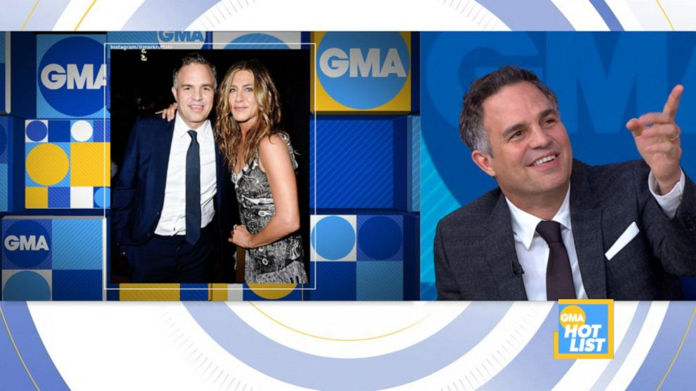 'GMA' Hot List: Mark Ruffalo on learning Instagram lessons from Jennifer Aniston
