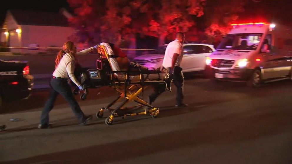 Mass shooting in Fresno backyard kills 4, injures 6; gunman at large